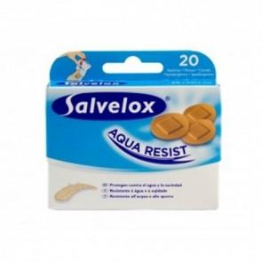 Salvelox 20 Apósitos Redondo Agua Resist