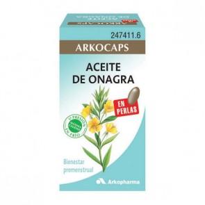 Arkocaps Onagra (Aceite de) 200 cáps. - menopausia, síndrome premenstrual, colesterol