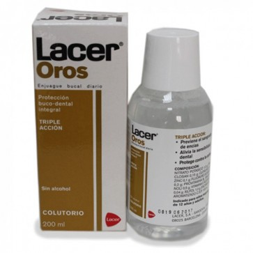Lacer Oros Colutorio 200 ml - Protección Buco-Dental Integral