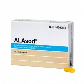 Alasod 20 Comprimidos - Combate el Estrés Oxidativo y los Radicales Libres