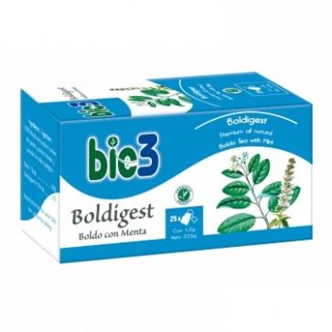 Bie3 Té Boldo Digest con Menta - Digestión, Hígado y Vesícula