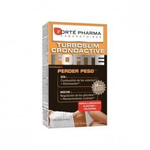 Turboslim Cronoactive Forte 28 Cápsulas (DÍA Y NOCHE) - Tratapiento Reductor de Lípidos, Menopausia