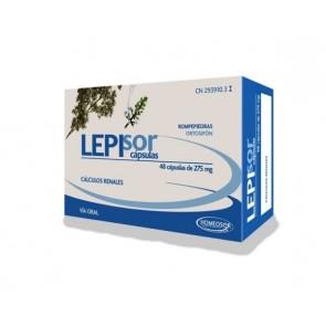 Homeosor Lepisor 275 mg 48 Cápsulas