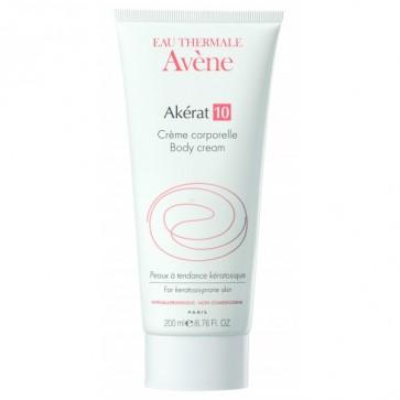 Avène Akérat 10 Crema Corporal 200 ml - Nutre, Hidrata y Calma la Piel, Queratolítica