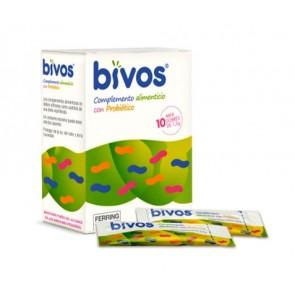 Bivos 10 Mini Sobres 1,5 Gramos - Flora Intestinal, Diarrea, Colitis