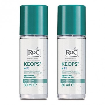 Roc Keops Roll On Desodorante 30 Ml Duplo - Piel normal