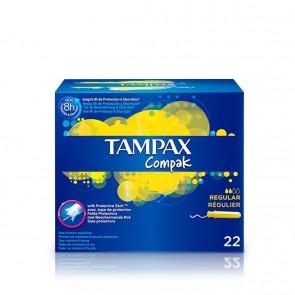 Tampax Compak Regular 22 Unidades