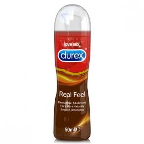 Durex Real Feel Pleasure Gel 50 ml - Lubricante Íntimo