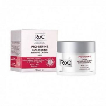 Roc Pro-Define Crema Antiflacidez Reafirmante 50 ml - Previene la Flacidez Aumentando la Firmeza de la Piel