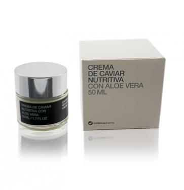 Crema Caviar Nutritiva con Aloe Vera 50ml Botanicapharma - Antiarrugas, Hidratante y Regeneradora