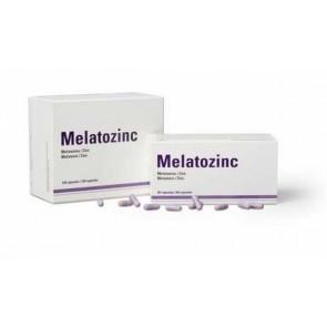 Melatozinc 1 mg 60 Cápsulas - Para Insomnio y Nerviosismo con Melatonina y Zinc