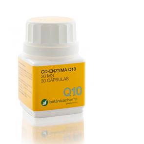 Coenzima Q10 30mg 30 Cápsulas Botanicapharma - Potente Antioxidante, Elimina Radicales Libres, Firmeza
