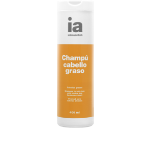 Interapothek Champú Cabello Graso 400 ml - Hiedra, Bardana