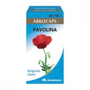 Arkocaps Pavolina o Amapola 48 cáps. - Insomnio, ansiedad, emotividad