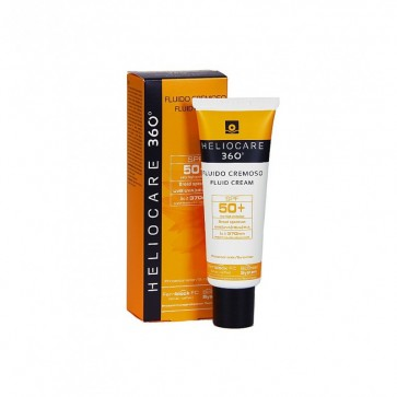 Comprar Heliocare 360º Fluid Cream SPF 50+ 50 Ml