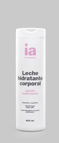 Leche Corporal Hidratante 400 ml con Centella Asiática Interapothek - Hidrata, Reafirma y Equilibra
