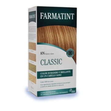 Farmatint 8N Rubio Claro 130 ML - Coloración Permanente Sin Amoniaco
