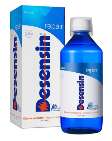 Desensin Repair Colutorio 500 ml - Enjuague Bucal Repara el Esmalte y Elimina el Dolor
