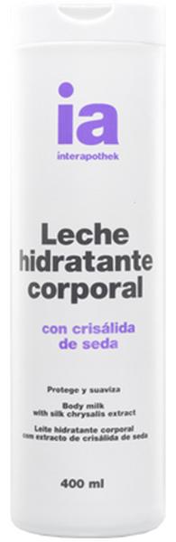 Interapothek Leche Hidratante Corporal Seda 400 ml - Pieles Normales y Mixtas