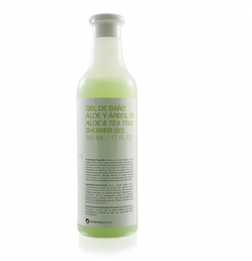 Gel de Baño Aloe +  Árbol del Té  500ml Botanicapharma