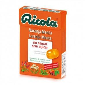 Ricola Caramelos Sin Azúcar Naranja 50 Gr