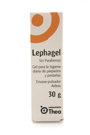 Lephagel Gel Ésteril 30 Gramos - Higiene Diaria de Párpados y Pestañas
