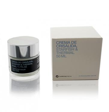 Crema de Crisálida, Estrella de Mar y Agua Termal FPS15 50ml Botanicapharama - Hidrata, Protege y Revitaliza