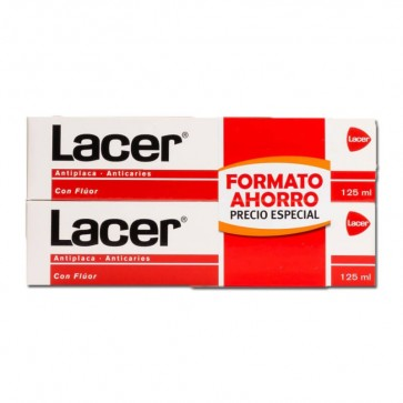 Pack Ahorro Duplo Lacer 125 + 125 ml