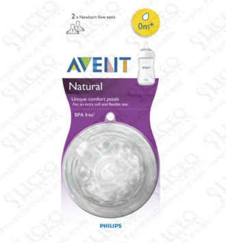 Philips Avent Tetina Natural Recién Nacido 2 Unidades