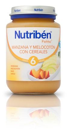 Comprar Nutriben Junior Manzana Melocotón Cereal