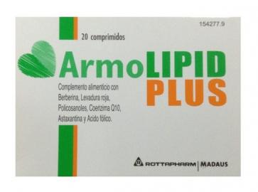 Armolipid Plus 20 comprimidos - Complemento Alimenticio, Colesterol