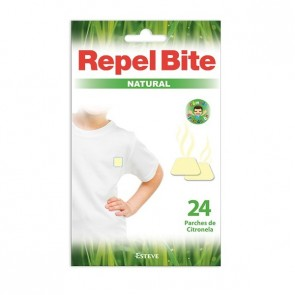 Repel Bite Natural Parches Con Citronela - Repelente Mosquitos e Insectos