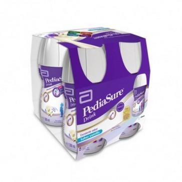 PediaSure Drink Vainilla 4 uds x 200 ml - Complemento Alimenticio de los Pequeños