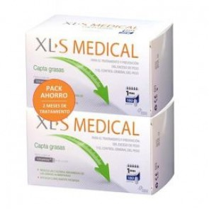 Pack Ahorro XLS Medical Captagrasas 2 x 180 Comprimidos