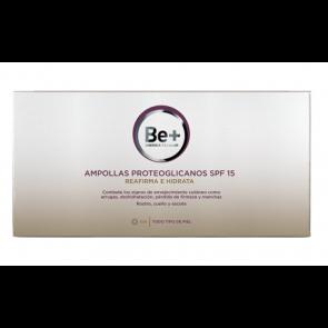 Ampollas Proteoglicanos Be+ SPF 15 - Reafirma e Hidrata la Piel, Anti Arrugas, Antienvejecimiento