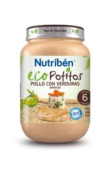 Comprar Nutriben Eco Pollo Con Verduras 200 Gr