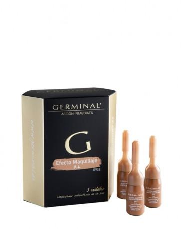 Germinal Acc.Inmed.Efecto Maquill. 3 Amp - Ampollas de Color Vitalizador