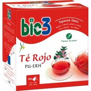 Bio 3 Té Rojo 1,5 G 100 Filtros