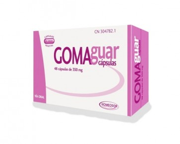 Homeosor Goma Guar 350 mg 48 Cápsulas
