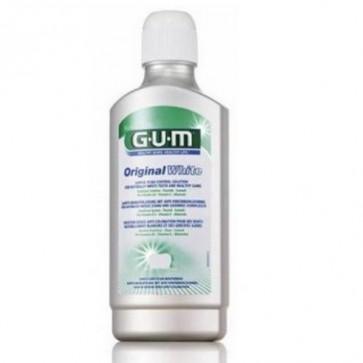 Gum Original White Colutorio 500 ml - Dientes Blancos y Encías Sanas 0% Alcohol