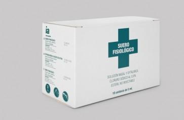 18 Monodosis de Suero Fisiológico de 5 ml de Interapothek - Limpieza oftálmica y nasal
