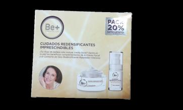 Pack Be+ Crema Nutritiva Pieles Maduras 50ml + Contorno de Ojos Pieles Maduras 15ml