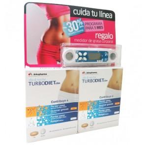 Duplo TurboDiet Slim 2x30 Comp Día y Noche - Dieta Perder Peso, Quemar Grasas, Relajar