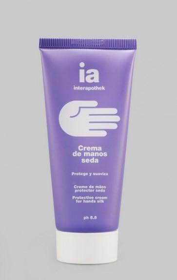 Comprar Crema de Manos Seda 100 ml Interapothek - Formato Familiar - Protege y Regenera