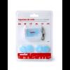 Acofar TAPONES OÍDOS silicona moldeable 6 unidades - sueño, concentración, infecciones, aislar