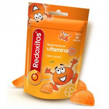 Redoxitos 25 Perlas Blandas - Complemento de Vitamina C para Ayudar a tus Defensas