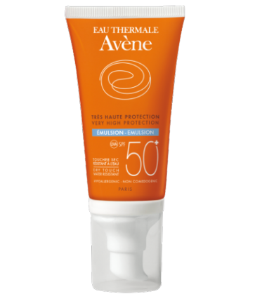 Avène Emulsion SPF 50+ Sin Perfume 50 ml