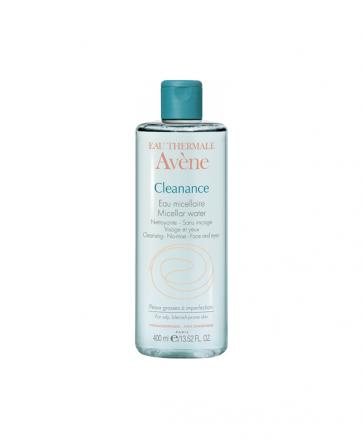 Avene Cleanance Agua Limpiadora 400 ml - Agua Micelar