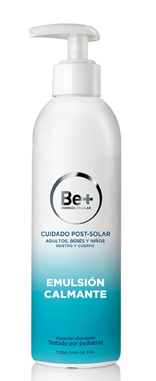 Be+ Protección Solar Emulsión Calmante Post-Solar 250 ml