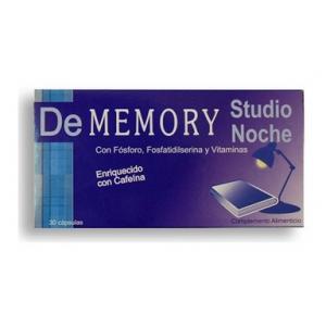 Dememory Studio Noche 30 Cápsulas